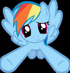 Incoming Hug - Rainbow Dash by Crisx3