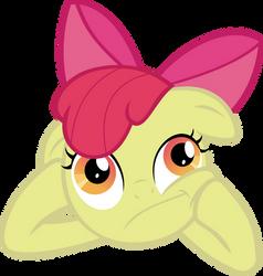 Applebloom Thinking by Crisx3