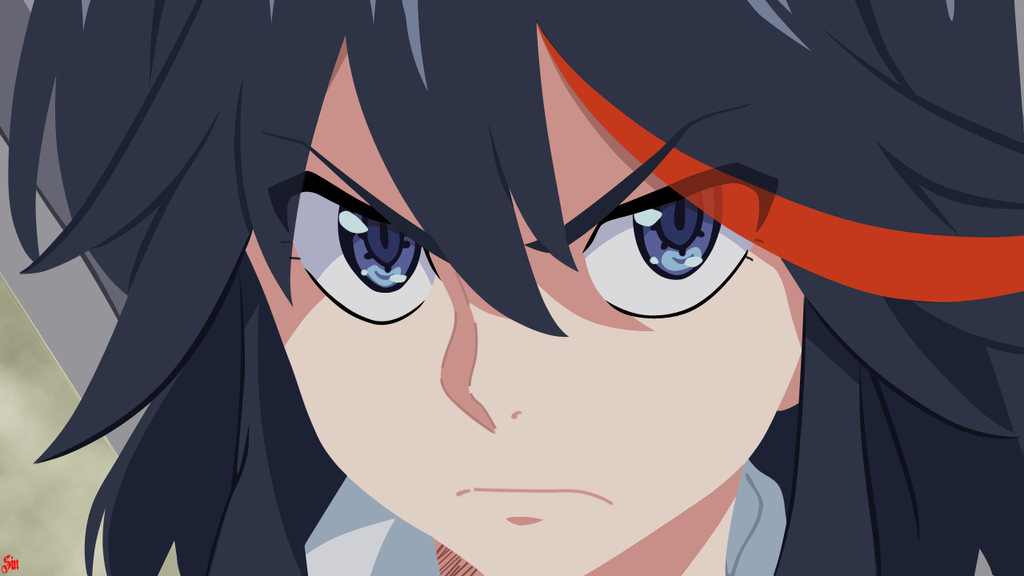 Minimalism Remake- Ryuko Matoi (Kill La Kill) by BathedInSin