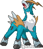 Cobalion Sprite by NightAuctor