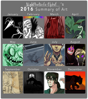 2016 in Thumbnails