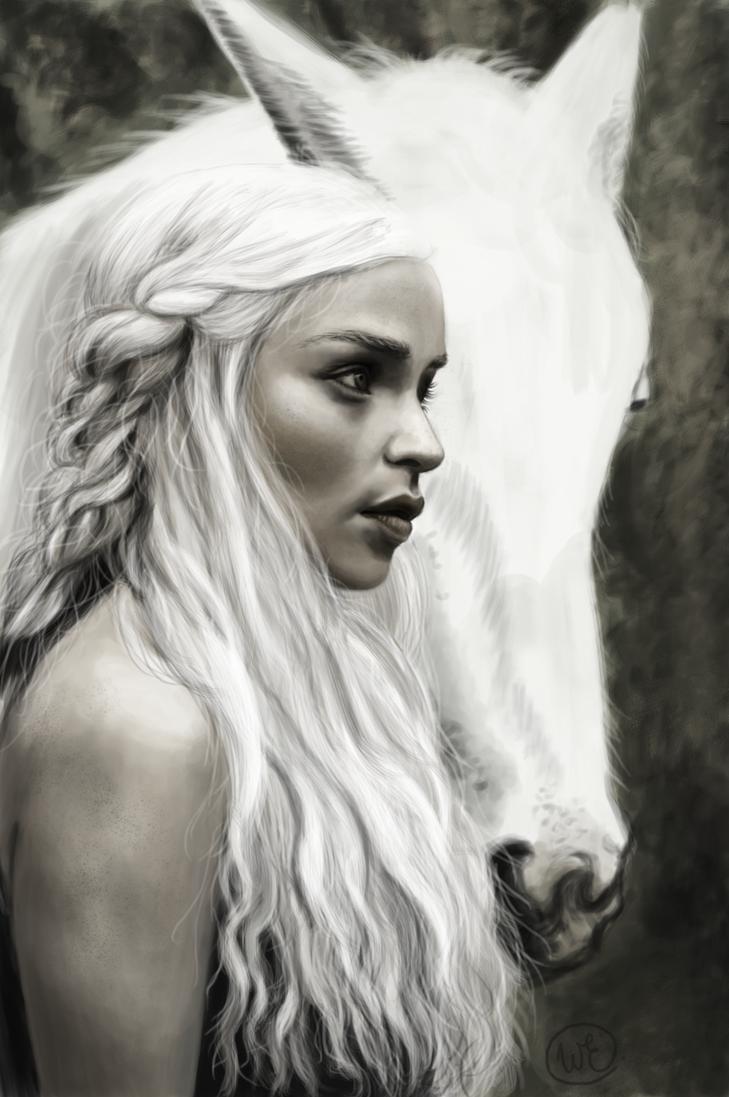 Daenerys Targaryen by SatelliteAlice