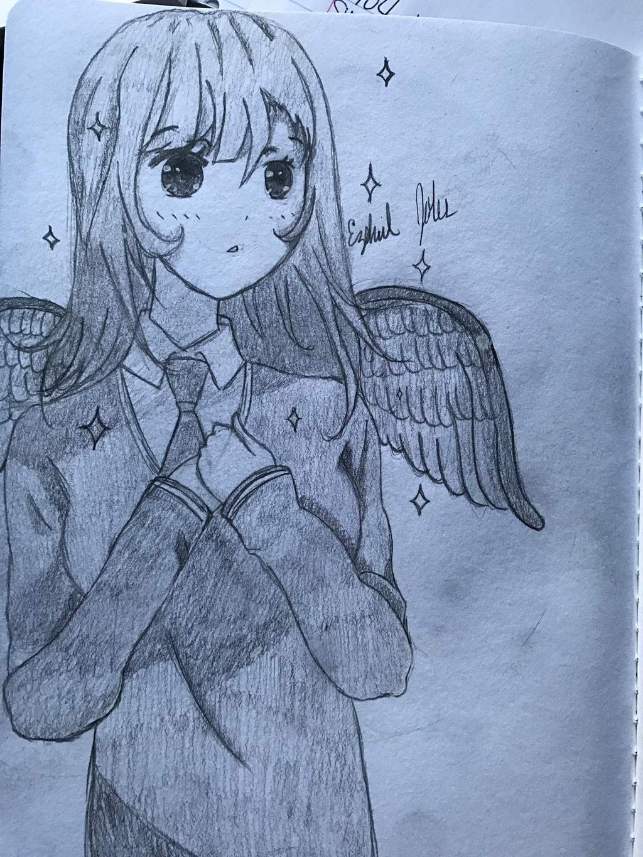 Little sketch by Mikoto-Shimizu