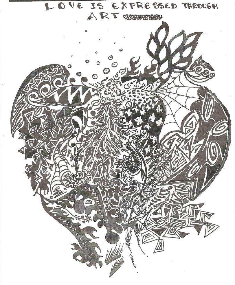 Love through Art by MrsChewed-log