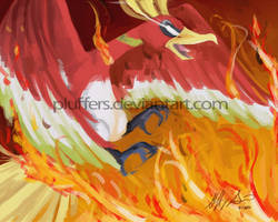 Ho-oh by Pluffers