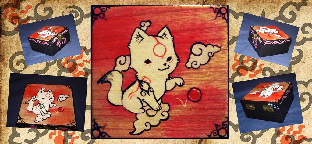 Chibiterasu box by Pluffers