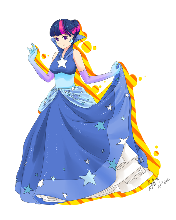 Twilight Sparkle: Gala Gown by Pluffers
