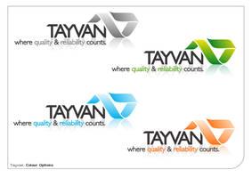 Tayvan - logo by dropside