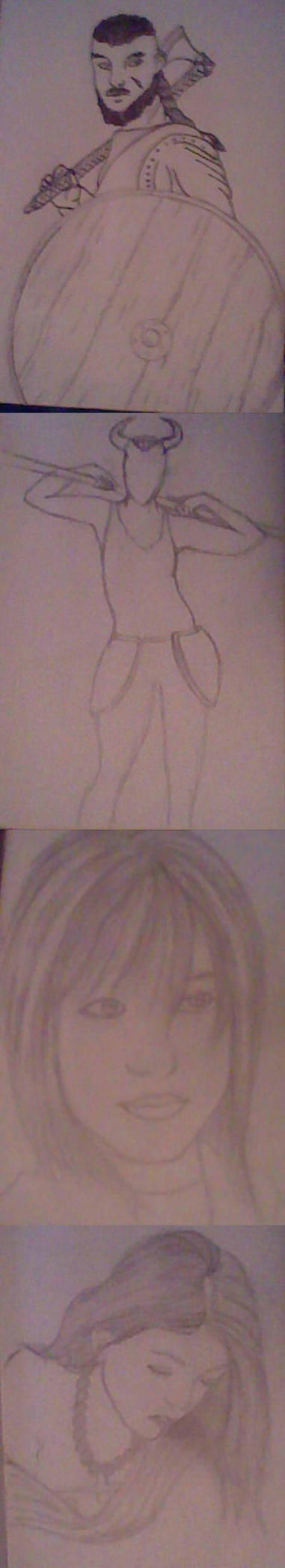 Sketchdump by PrestonH