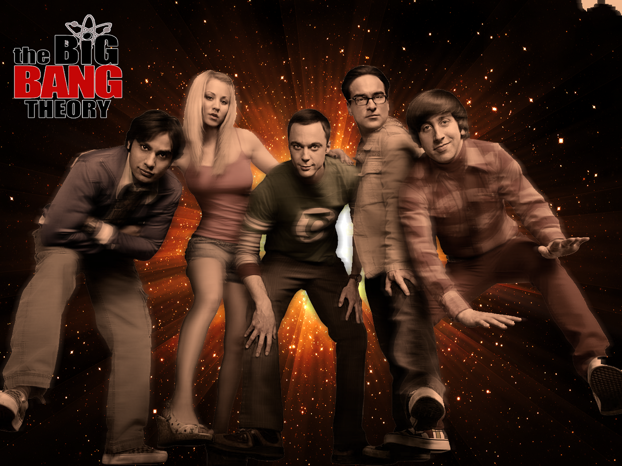 Big Bang Theory Wallpaper By Artianer