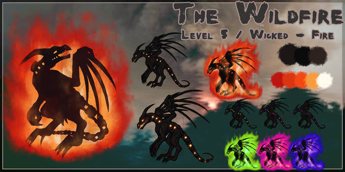 [PARA] The Wildfire Ref Sheet