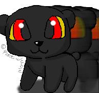 Shadow Bear Commission by Cinnamon-Stix