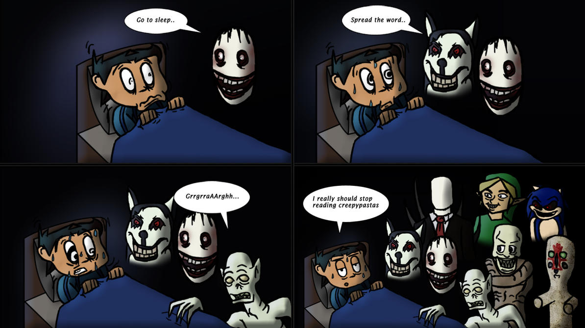 100 Too much Creepypastas by Fonzzz002
