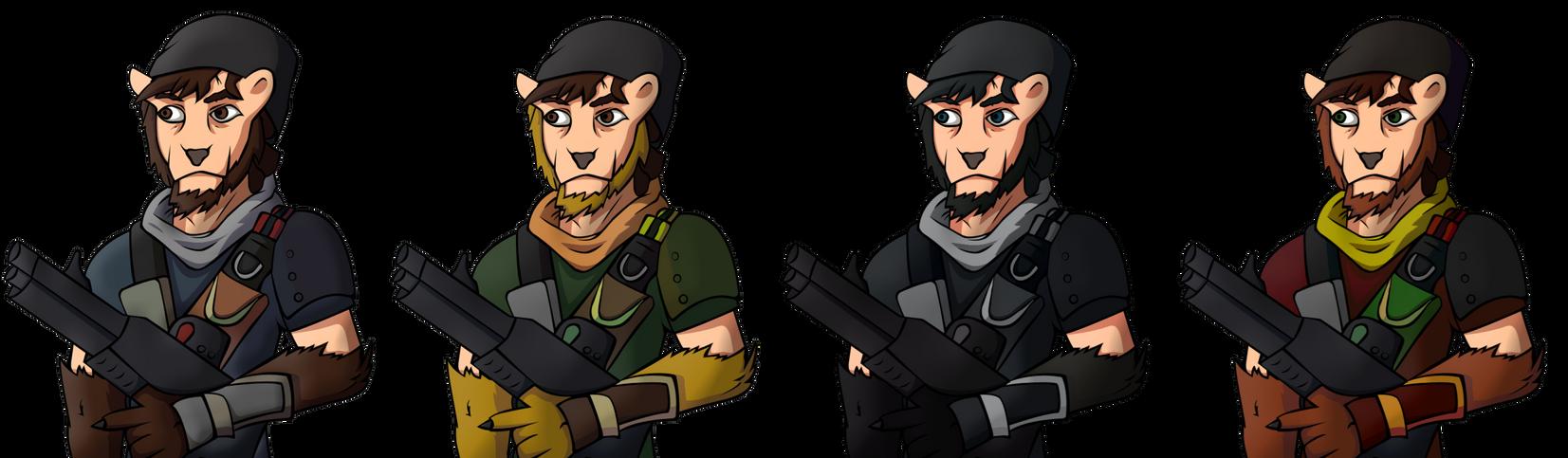 Avatar designs by Fonzzz002