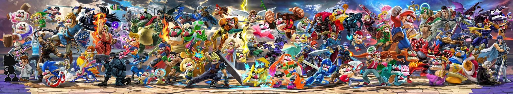 Everyone is Here, But Everyone is Wario (V2)