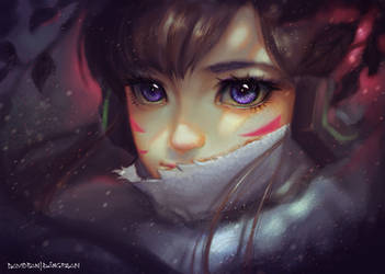 D.VA (download full size original on Gumroad) by DavidPan