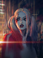 Harley Quinn by DavidPan