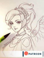 Mercy Winged Victory by DavidPan