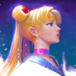 Sailor Moon by DavidPan