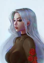 Ava Rose by DavidPan