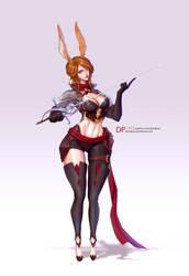 Rabbit Girl by DavidPan