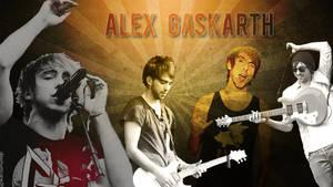 Alex Gaskarth Wallpaper by dizzyhurricane29
