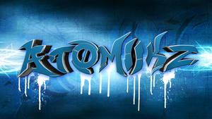 Graffiti Wallpaper - AtOmiiKz by dizzyhurricane29