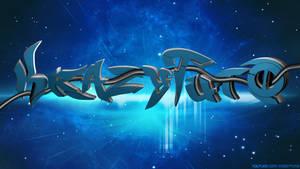 Wallpaper Blue Space - KrazyTutO by dizzyhurricane29