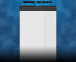 ShadozTutorials Blue YT Background (full HD) by dizzyhurricane29