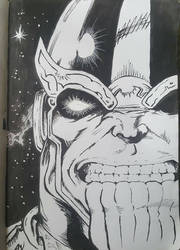Thanos by mcvicker35
