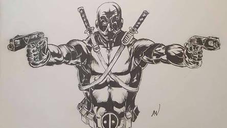 Deadpool by mcvicker35