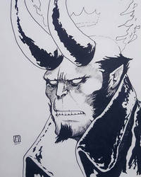 Hellboy by mcvicker35