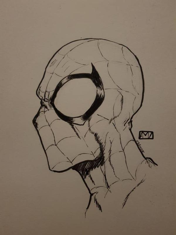 spider-man by mcvicker35