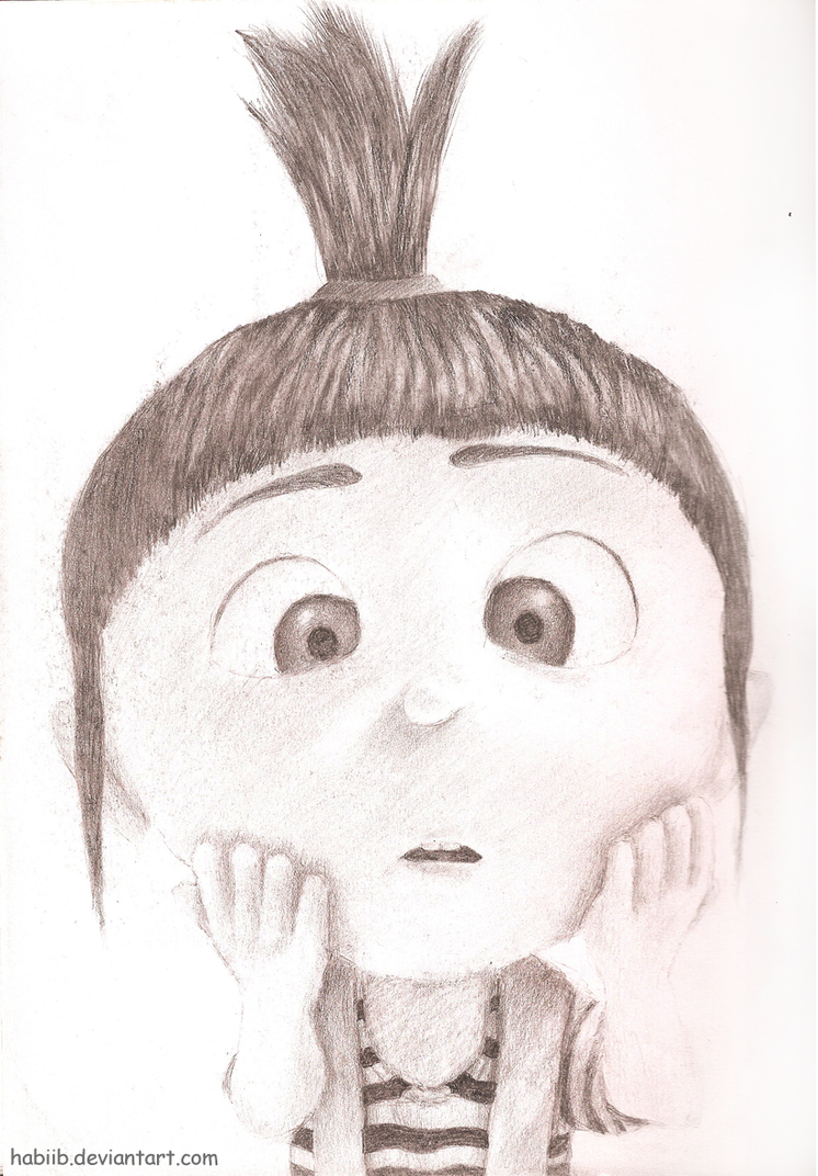 Despicable Me - Agnes by Habiib on DeviantArt