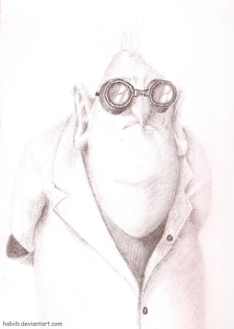Despicable Me Dr Nefario Drawing Despicable Me - Dr. Ne...
