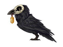 Raven Pixel BLACK - FTU (OLD - NEW ONES POSTED) by kibaslovelies