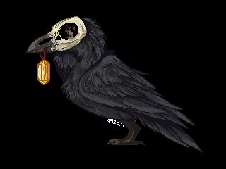 Raven Pixel BLACK - FTU (OLD - NEW ONES POSTED) by kibaslovelies
