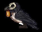 Raven Pixel PIEBALD - FTU (OLD - NEW ONES POSTED)