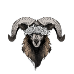 FTU - Blackbelly Sheep/Ram Bust