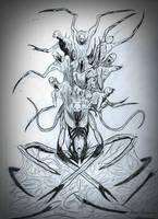 DS necromorph great boss 2.. by bloodypenalper