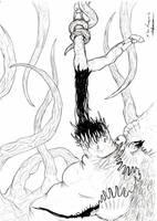 dead space - boss sketch by bloodypenalper