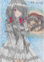 Date a Live (Kurumi Tokisaki) by Vuvi