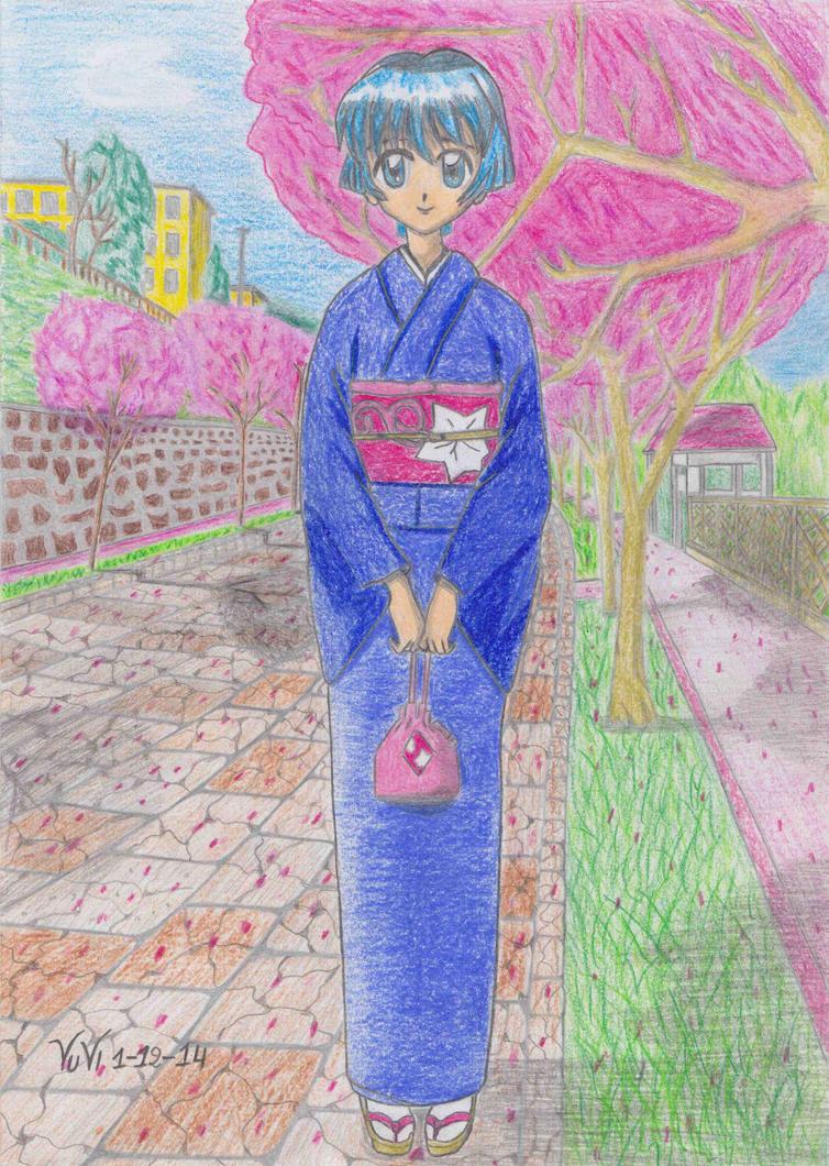 Ai Yori Aoshi  Aoi Sakuraba by Vuvi