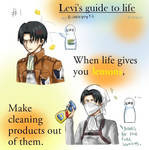 Levi's guide to life - When life gives you lemons.