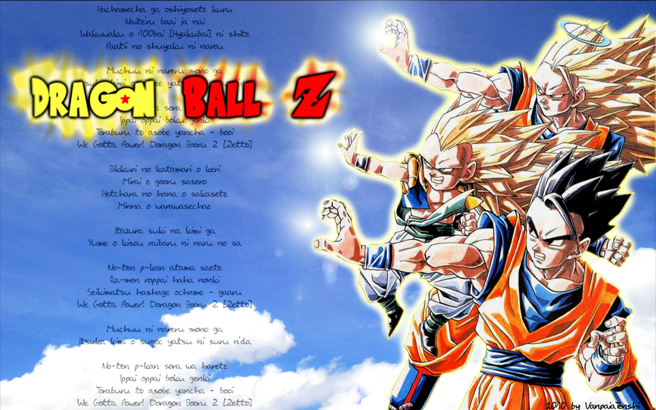 dbz we gotta power: