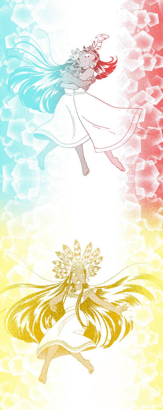 Magical Girl Transformations by mizu-shimma