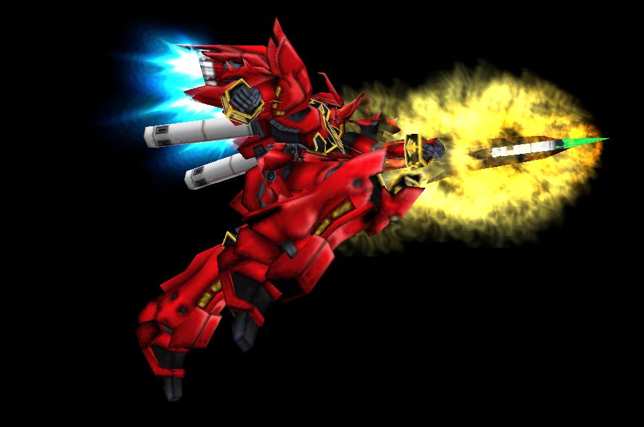 MS Sinanju: The Red Comet Reborn!!! by Walker93