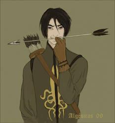 Theon Greyjoy by Algesiras