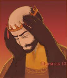 The flame crown by Algesiras