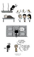 Pet Wendigo strip 6 - Team Science